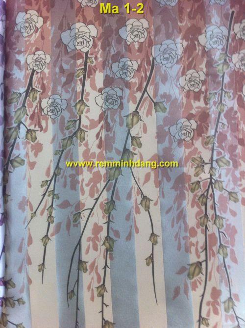 Bộ sưu tập rèm cửa mẫu JingPin họa tiết gấm 2 mặt