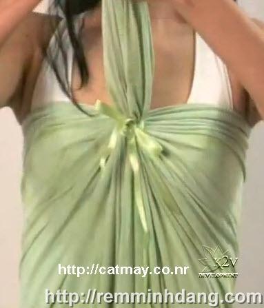 Cách cắt may váy đầm thời trang thật đơn giản không cần công thức