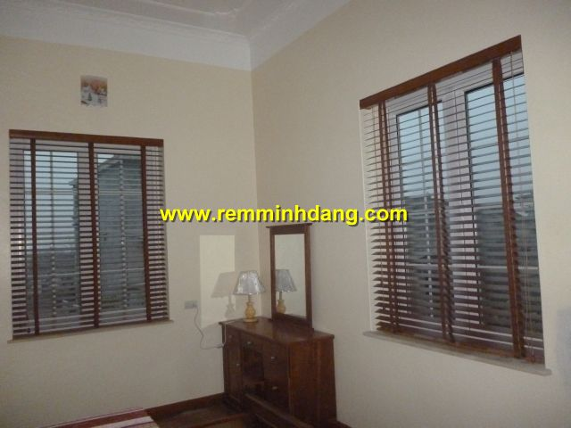 Công trình rèm sáo gỗ nhà bà Then - Ninh Bình